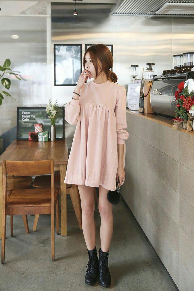 model dress pendek cantik untuk tubuh mungil 1
